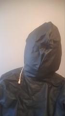 Total Enclosure 2 (ac_343) Tags: rainwear rubber raincoat boots hood enclosed green shiny pvc