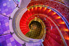 Red Carpeted Spiral (lfeng1014) Tags: redcarpetedspiral spiralstaircase stairs oasisfotheseas rci cruiseship structure architect architectural spiral canon5dmarkiii ef1635mmf28liiusm royalpromenade deck5 helical circular lifeng spiralstairs