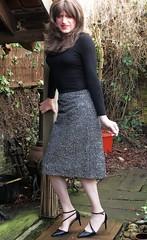 Wearing In Heels (Amber :-)) Tags: pencil skirt tgirl transvestite crossdressing
