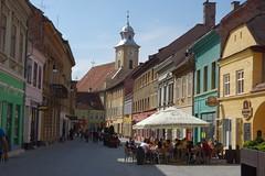 Romania - Brasov (Kronstadt) (Alf Igel) Tags: romania rumänien brasov kronstadt fussgängerzone pedestrialarea siebenbürgen transylvania transilvanien karparten
