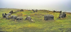 Stone Age Circle at Loughcrew (dmoon1) Tags: loughcrewhills neolithic stoneage tomb sony a6500