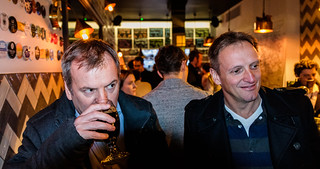 Drinking - The Arbitrager Bar (Craft Beer) City of London (High ISO) Fujifilm X100F & 28mm Wide Lens Converter (1 of 1)