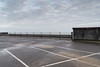Gorleston Pier (Number Johnny 5) Tags: lines tamron d750 nikon pier space empty sea mundane boring banal barrier wet car 2470mm deserted park angles signs documenting fence