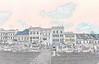 Retz, Hauptlatz, Konturen, Pastell DSC_6071_DSC_6075-5, by weziheu4 (WeZiHeu44) Tags: retz hauptplatz niederösterreich weinbau keller kellerführung verkostung wein heuriger weingarten weinberg rebe pastell kontur weziheu44 weinviertel panorama