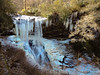 Dry Falls-1425 (kasiahalka (Kasia Halka)) Tags: dryfalls falls forest ice icicles nantahalanationalforest nationalforest nature nc northcarolina outdoor road snow trees tributaryofcullasajariver us64 water waterfalls westernnorthcarolina winter wnc