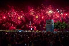 Reveillon 2018 Rio Fireworks (GeorgeShell) Tags: riodejaneiro brasil brazil fireworks juegos pirotecnicos años nuevo new years ano novo copacabana 2018 light colors