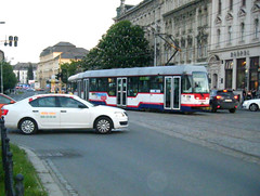Olomouc tram No. 102 and 101 (johnzebedee) Tags: transport tram publictransport vehicle olomouc czechrepublic johnzebedee