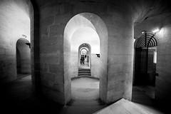 Paris, Pantheon, crypte, 1 (Patrick.Raymond (4M views)) Tags: paris pantheon crypte bw lightroom nikon tombe église