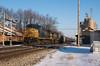 CSX Westbound - North Baltimore, Ohio (dti407) Tags: 2018 csx northbaltimore ohio sony a77ii westbound depot elevator