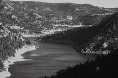 Gross Reservoir, Colorado (btusdin) Tags: 7daysofshooting week29 serene blackandwhitewednesday