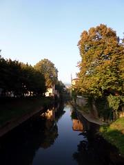 (fotodavi) Tags: vicenza italy fotodavi scorcio alberi acqua riflesso landscape fiume retrone