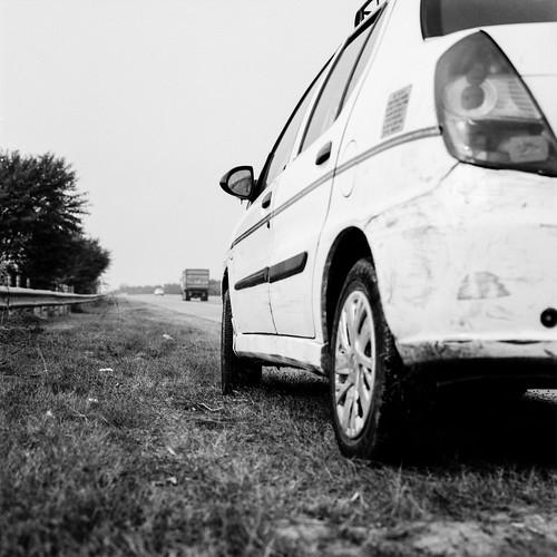Stop on roadside 01