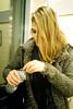 fiona (Lee Sydney) Tags: olympusmjuii kodakgold200 fiona german girl blonde hair coat grey blended winter filmisnotdead filmphotography 35mmphotography