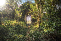 Heavens Gate (JOP-76) Tags: italy lost urbex abandoned exploration gate sun