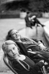 Dans le jardin du Palais Royal (Tormod Dalen) Tags: iso200 argentique film fomapan200 noirblanc paris spotmaticf jardin palaisroyal generations analog