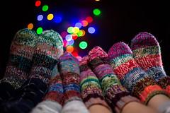 Family socks (mad_airbrush) Tags: 5d 5dmarkiii lights socks socken colorful bunt bokeh bokey 50mm ef50mmf14usm f14 strobist strobistcom flash strobe blitz yongnuo yn622c rim