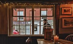 365/023 Passer-by (Romeo Mike Charlie) Tags: window streetscene havant oldhouseathome pub bar