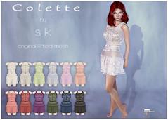 Colette poster (*Sweet Kajira*) Tags: ligeneri sk lenceria