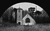 Chapel... (DawnWarrior) Tags: urbex urbanexploration decay derelict dark creepy west abandoned aberthaw boys camp wales arch powerlines weather vane sigma dawnwarrior