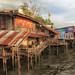 Stilt houses - Bangkok