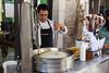 Churro maker (begineerphotos) Tags: 2016 djh djherrick havana cuba cuba2016 vendor foodvendor working churro churros dough oil friendlychallenges