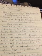 Blueprint notes