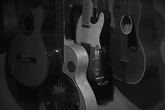 Choices (gpa.1001) Tags: guitars 6string bassguitar blackandwhite