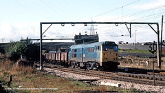 20/10/1981 - Broughton Lane, Sheffield, South Yorkshire. (53A Models) Tags: britishrail class31 31289 diesel freight broughtonlane sheffield southyorkshire train railway locomotive railroad