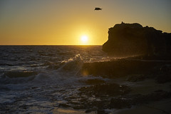 Sunset Beach (Stueyman) Tags: sony alpha ilce a7 a7ii za zeiss sunset wa westernaustralia australia perth rockingham peron capeperon goldenhour sand sky water ocean sea indianocean 55mm