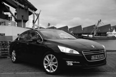 Peugeot 508-10 (gabrielgs) Tags: peugeot 508 peugeot508 car drive photography photoshoot vehicle luxurious 2012 auto scheveningen fotoshoot carshoot black francecar frenchcar france fifthgear