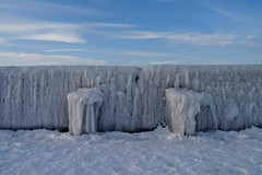 icy afternoon (veebruar) Tags: ice mole seawall winter february cold