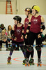 057 (Bawdy Czech) Tags: lcrd lava city roller dolls cinder kittens cherry bomb brawlers skate rollerskate bout bend oregon or february 2018 juniorderby juniors rollerderby lavacityrollerdolls