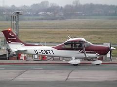 G-CWTT Textron Cessna 182 Private (Aircaft @ Gloucestershire Airport By James) Tags: gloucestershire airport gcwtt textron cessna 182 private egbj james lloyds
