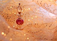 Exotic perfume bottle (zinnia2012) Tags: 50mm bottle perfume bokeh fragrance spicy zinnia2012