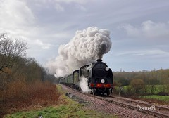 14th Feb 2018. 'Sulky Sevice' on the Bluebell. (Dangerous44) Tags: s15 847 sulky service steam locomotive engine train waterworks bluebell railway