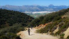 Heading up the Lifa Pass (kate willmer) Tags: town hills mountains mountainbike bicycle bike trail road track andalucia spain