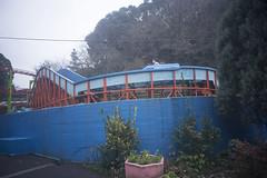 Lonely amusement park on a rainy day by mokuu - 福岡県太宰府市 / LEICA M-P × Summaron 28mm F5.6 / JG C1 06  010 / mokuu.cc/2018/01/post-346.html