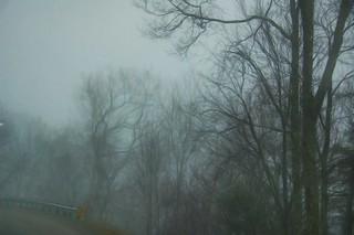 Foggy Mountain Guardrail