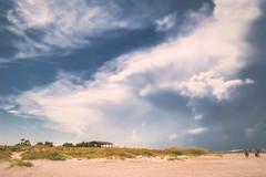 Fort Macon NC Beach - Storm Approaching (Modkuse) Tags: tokinaaf2870mmf2628 nikondslr nikon beach fortmacon northcarolina storm clouds