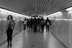 Barcelona metro 🚋 (alexaSB) Tags: mono monochrome blackandwhite bw nikon metro street shop nikond3300 35mm holiday espanol takeaway d3300 urbanartnikon tienda artwork barcelona20183kings lightroom web art streetart streetphotgraphy catalan catalunya barca spain urbanart arte candid artist barcelona urban travel spanish sign ngc pizza espania