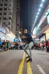 MR SHOWMAN (life begins with 4t) Tags: 4t 4tsuarez 4tsphotos fortunatocsuarezjr fortisuarez art travel photography streetperformer hongkong mongkok entertainer streetphotography nightphotography street streetentertainer