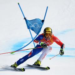 Ski alpin - Slalom géant hommes (France Olympique) Tags: 2018 alpin alpine coree fanarathomas games geant giant jeux jeuxolympiques jo korea men olympic olympicgames olympics olympiques pyeongchang ski skiing slalom south sport sud winter coréedusud