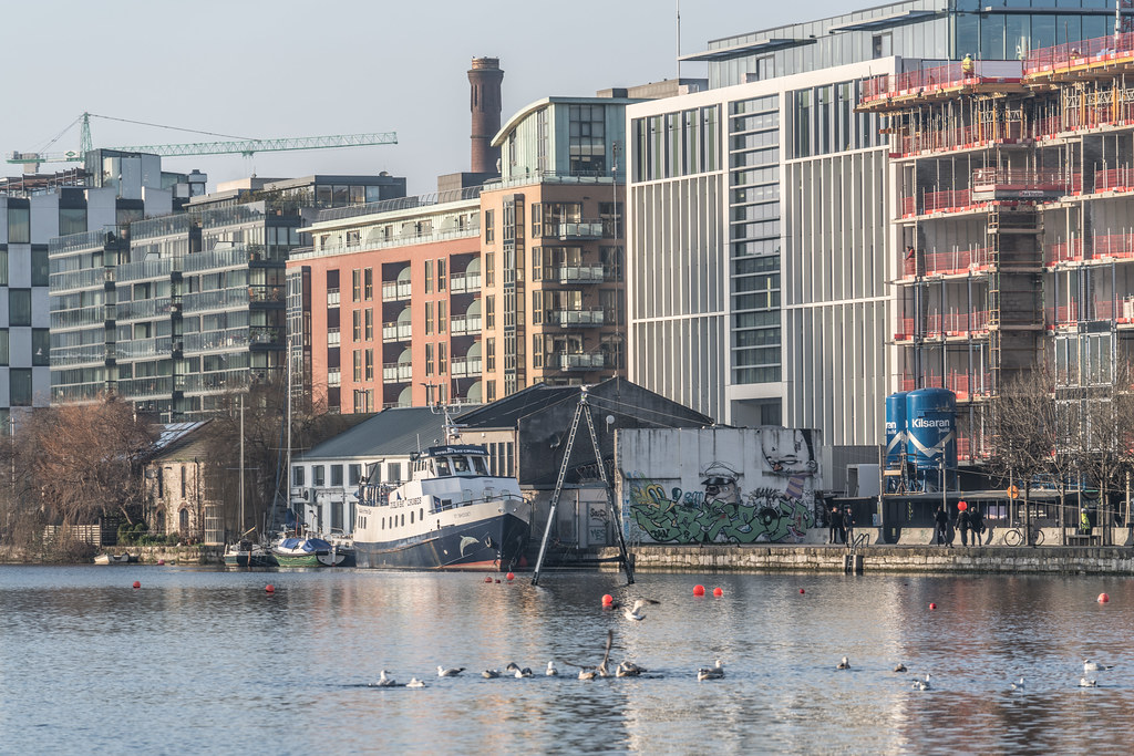 GRAND CANAL DOCK AREA OF DUBLIN [PHOTOGRAPHED 11 JANUARY 2018]-135425