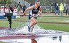 Splish, splash... (acase1968) Tags: sou track steeplechase raider stadium ashland oregon ccc cascade conference corban university female runner wet d500 nikon nikkor 70200mm f28g
