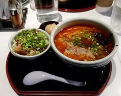 Spicy Miso Ramen (uhhey) Tags: santouka ramen miso food