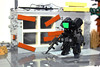 X51b - Military Black Special Forces (Devid VII) Tags: devidvii devid vii moc mecha mech lego black special forces military drone diorama