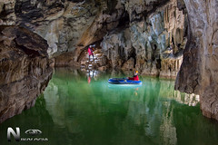 Lago de Mairuelegorreta (Nikologia) Tags: mairuelegorreta cueva caving espeleologia espeleo underground cave gorbeia lago