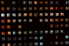 Many Rows of Office Windows (tarmo888) Tags: year2017 special beenwaiting nightshot ukraine україна ukrayina украи́на украина kiev kyiv київ ки́ев киев kiyev kyyiv sonyalpha sonyα nex7 geotaggedphoto geosetter sooc photoimage фотоfoto autohdr voyeur rearwindow sel18200