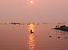 solar paddle (n.a.) Tags: girl paddle kayak sun sunset water beach park people boats ships vancouver false creek bc british columbia canada