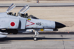 Japan Air Self Defence Force, McDonnell Douglas F-4EJ Kai Phantom II, 97-8426. (M. Leith Photography) Tags: mark leith photography japan japanese self air defence force jasdf mcdonnell douglas phantom f4 ibaraki hyakuri sunshine base fighter nikon d7000 d7200 70200vrii 300mmf4 nikkor asia flying military sky building airplane cockpit aircraft jet